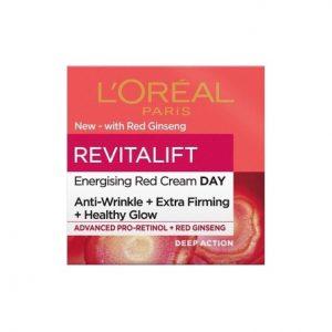 L'ORÉAL PARIS Revitalift Energising Red Day Cream 50Ml