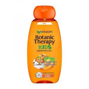 BOTANIC THERAPY 2-in-1 Kids Apricot & Cotton No Tears Shampoo 400ml