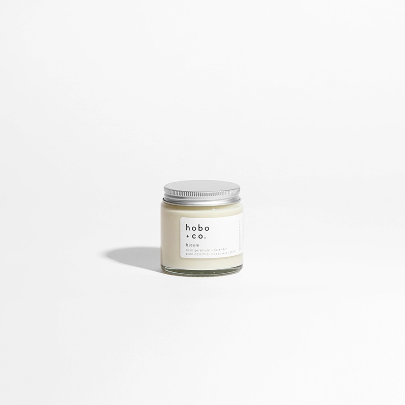 HOBO Essential Oils Lavender, Rose & Geranium Candle 120Ml