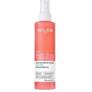 DECLÉOR Aloe Vera Sun Bi-Phase Oil SPF30