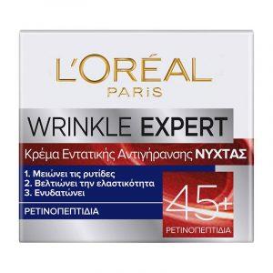 L'ORÉAL PARIS Wrinkle Expert 45+ Night Cream