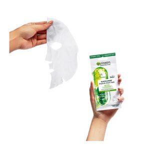 GARNIER SkinActive Niacinamide + Kale Ampoule Sheet Mask