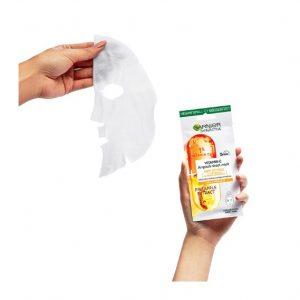GARNIER SkinActive Vitamin C Anti Fatigue Ampoule Sheet Mask