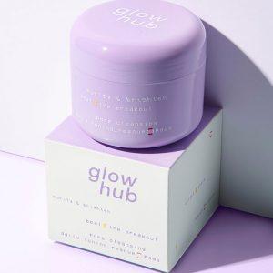 GLOW HUB Purify & Brighten Pore Rescue Lifesaver Toner Pads