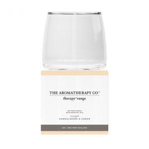 AROMATHERAPY Strength – Sandalwood & Cedar Candle 260gm