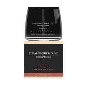 AROMATHERAPY Kitchen – Mandarin, Mint & Basil Candle 260gm