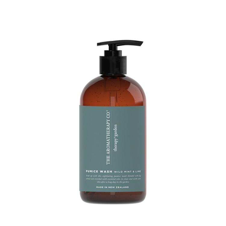 AROMATHERAPY Garden - Wild Lime & Mint Pumice Wash 500ml