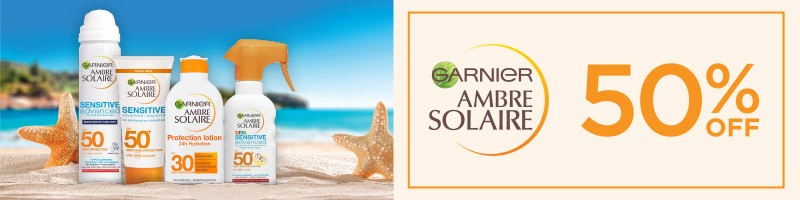 AMBRE SOLAIRE_50% OFF_CHECK OUT BANNER_800X200