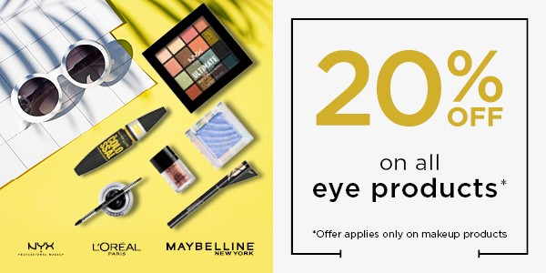 20% OFF ON ALL EYE PRODUCTS_OFFER BANNER_600X300