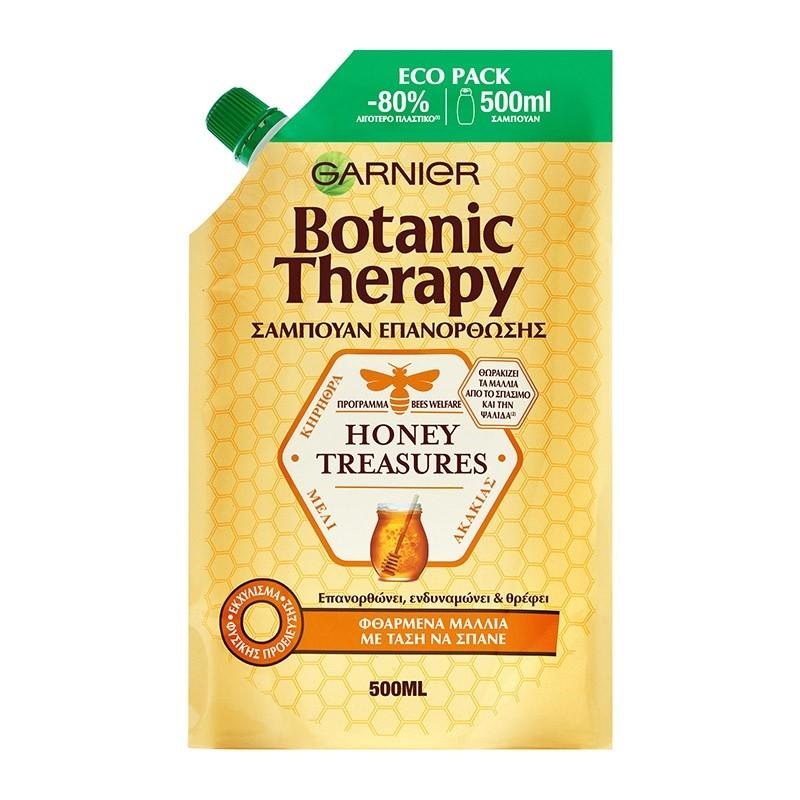 BOTANIC THERAPY Honey Treasures Shampoo 500ml Eco Pack
