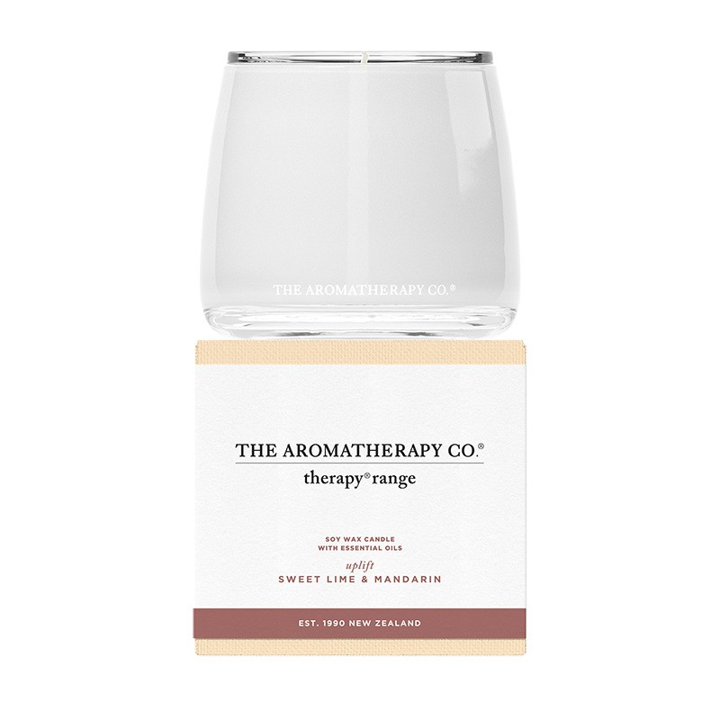 AROMATHERAPY Uplift Lime & Mandarin Candle 260g