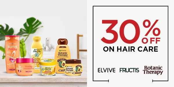30% OFF ON HAIR CARE_OFFER BANNER_600X300