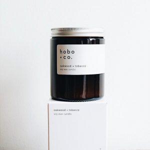 HOBO Oakwood & Tobacco Candle 180Ml
