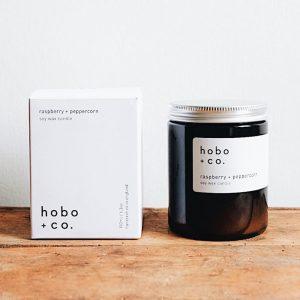 HOBO Rasberry & Peppercorn Candle 180Ml