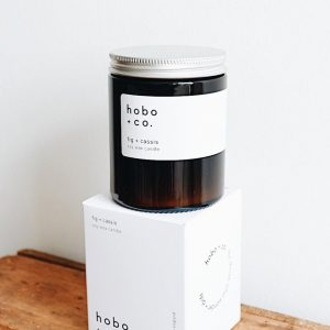 HOBO Fig & Cassis Candle 180Ml