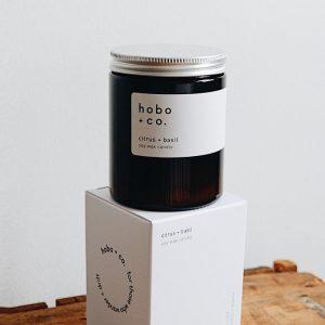 HOBO Citrus & Basil Candle 180Ml