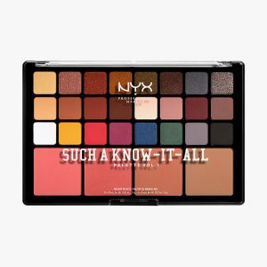NYX PROFESSIONAL MAKEUP Such A Know-It-All Palette Vol. 1