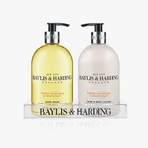BAYLIS & HARDING Signature Sweet Mandarin & Grapefruit Hand Wash & Lotion Set