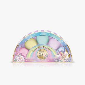 BAYLIS & HARDING Unicorn 5 Fizzers Xmas Gift Set