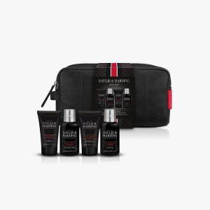BAYLIS & HARDING Signature Men'S Black Pepper & Ginseng Wash Xmas Gift Set