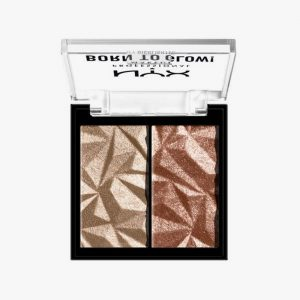 NYX PROFESSIONAL MAKEUP Born To Glow Icy Highlighter Duo