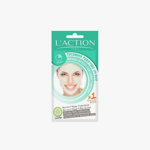 L'ACTION Cucumber Purifying Spa Mask