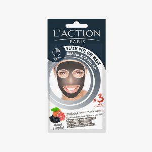 L'ACTION Black Peel Off  Mask