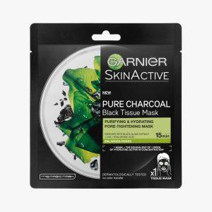GARNIER SkinActive Charcoal Tissue Mask 28G