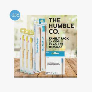 HUMBLE Value Family Pack Mega, 2 X Adult, 3 X Kid, 1 X Swabs