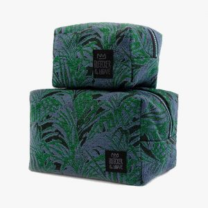 BLEECKER & LOVE Emerald Make-up bag Small