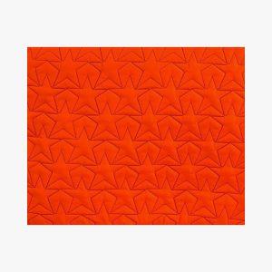 BLEECKER & LOVE Stars Neon Orange Make-up bag Small
