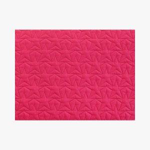 BLEECKER & LOVE Stars Neon Pink Make-up bag Large