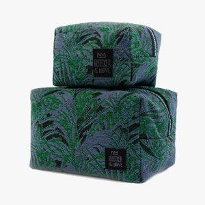 BLEECKER & LOVE Emerald Make-up bag Large