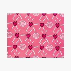 BLEECKER & LOVE Fulmine Pink Scrunchie