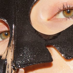 SKIN GYM Royal Black Diamond Face Mask -Single
